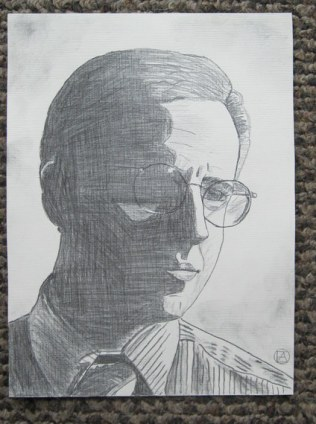Mike Tuggle Pencil Sketch (3)