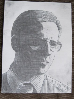 Mike Tuggle Pencil Sketch (4)