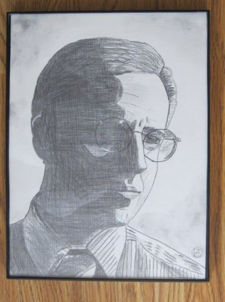 Mike Tuggle Pencil Sketch (5)