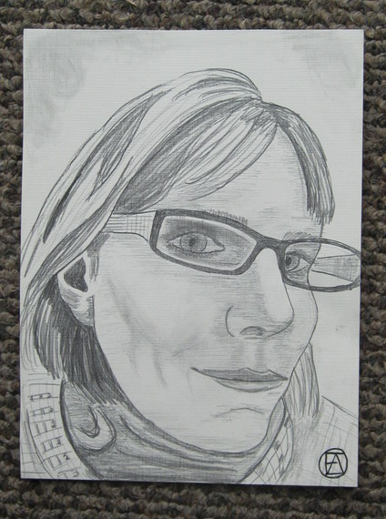 Self Pencil Portrait (4)