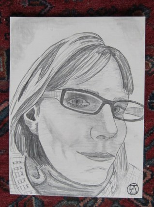 Self Pencil Portrait (6)