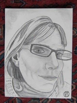 Self Pencil Portrait (6)
