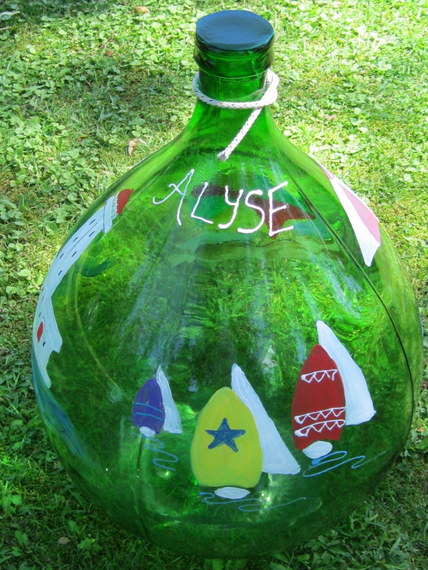 Nautical Theme Bottle 2 (2)